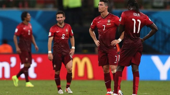 Un éclair évite l'orage sur Ronaldo