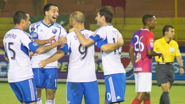 L'Impact gagne 3-2 face au C.D. FAS au Salvador
