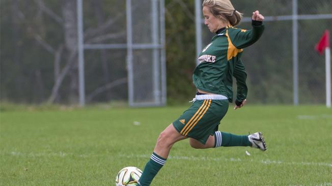 Vert & Or: Les filles dominent le match contre l'UQAM