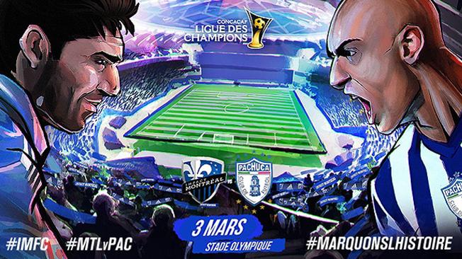 L'Impact reçoit Pachuca dans un duel historique en Ligue des Champions mardi