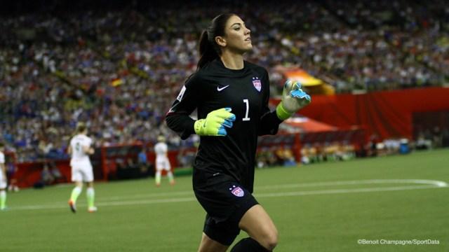match de quart de finale Allemagne v USA