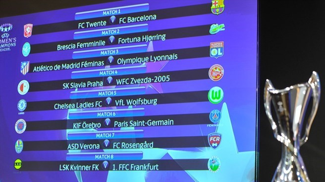 Le FC Rosengård affronte Verona en ligue des champions