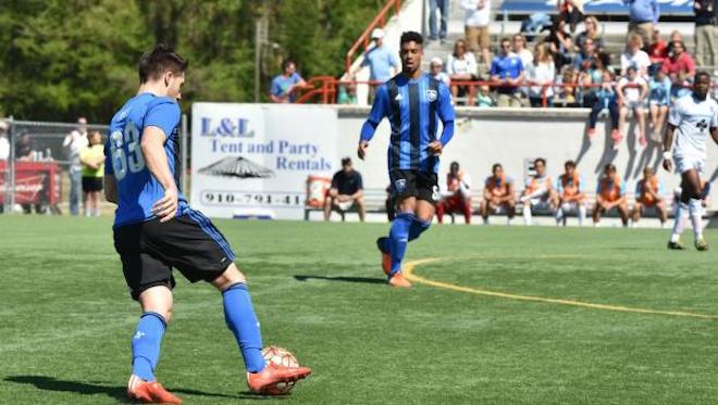 Le FC Montréal s'incline 2-0 face au Hammerheads FC de Wilmington