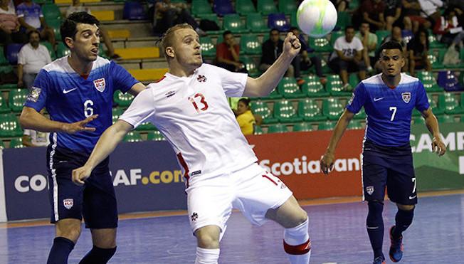 Le Canada se qualifie pour le championnat de la CONCACAF de futsal