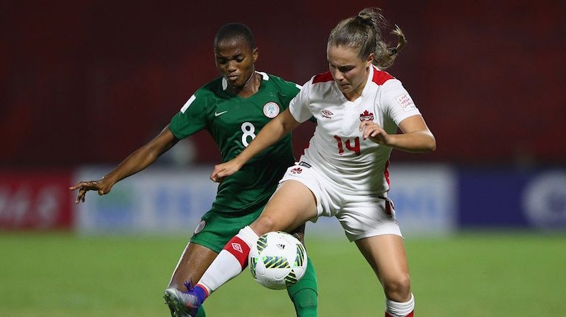 L'équipe féminine U-20 s'incline devant le Nigeria à la CDM Papouasie-Nouvelle-Guinée