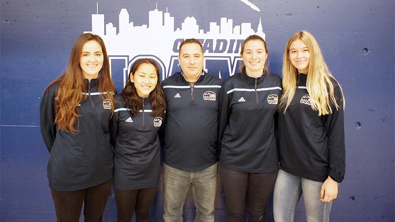 Quatre recrues se joignent à l'équipe féminine de soccer de l'UQAM