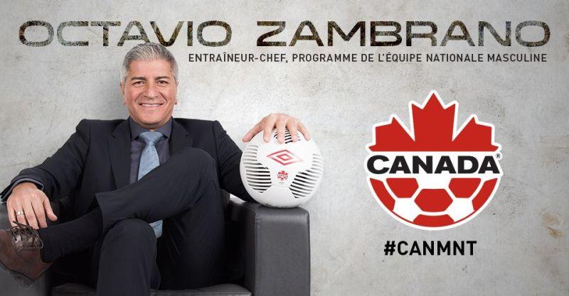Octavio Zambrano le nouvel entraîneur-chef de l'équipe nationale masculine