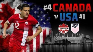 La rivalité la plus féroce du sport féminin:  Canada v États-Unis à Vancouver