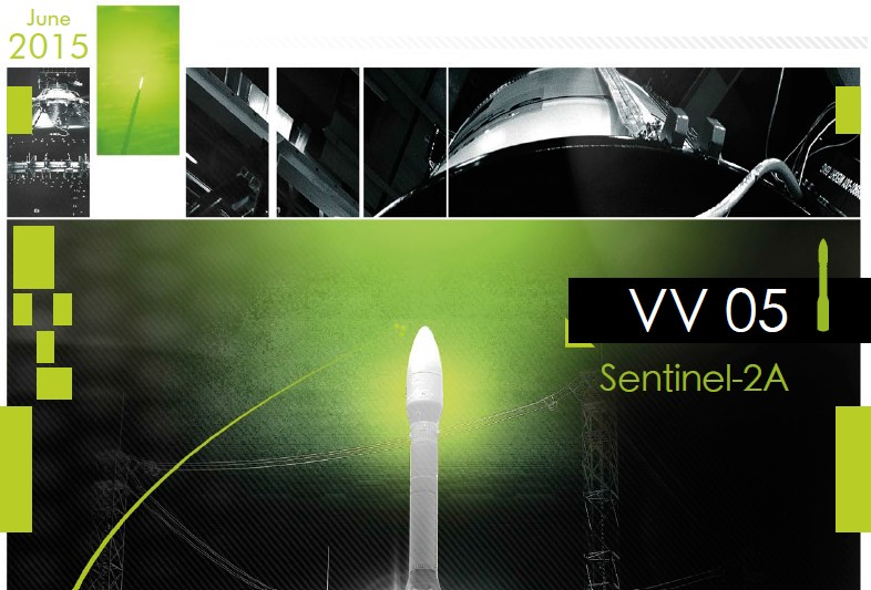 3 PDF. Vega VV05 - Sentinel 2A Launch Press Kit EN&FR + Cover Art
