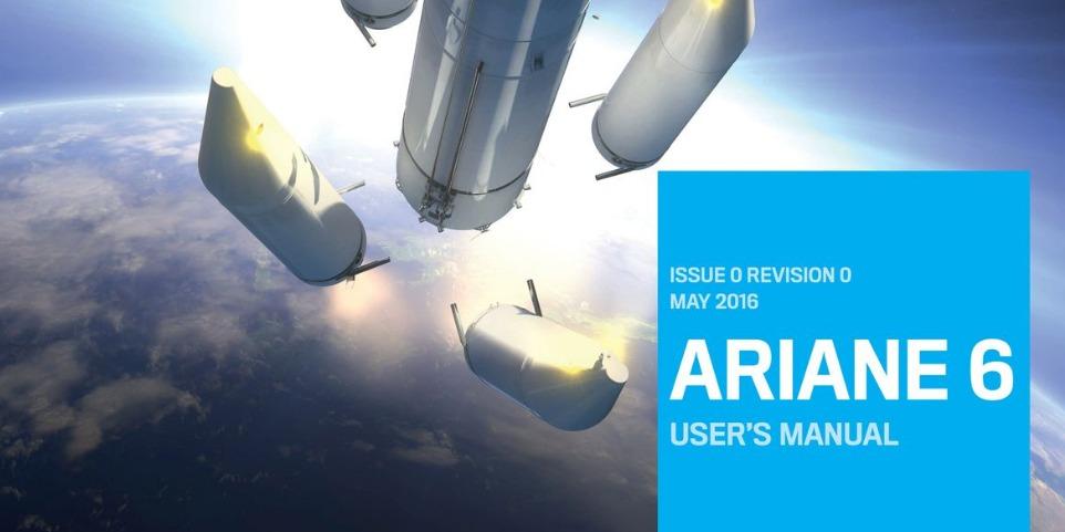 PDF. Ariane 6 User's Manual. Publicado en febrero 2017