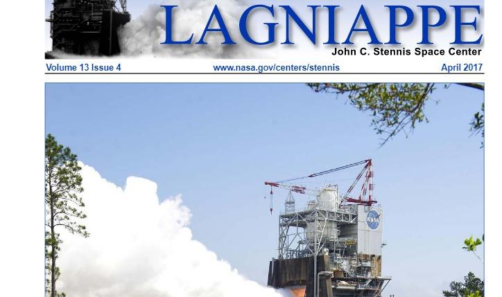 Revista. Stennis Lagniappe. Abril 2017