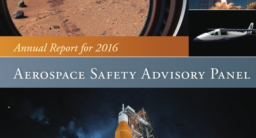 PDF. NASA Aerospace Safety Advisory Panel - Annual Report for 2016