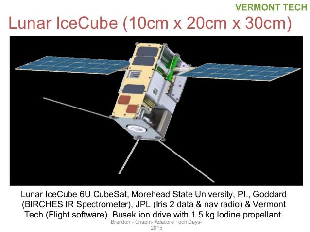 2 PDF. EM-1 - Lunar Icecube Mission