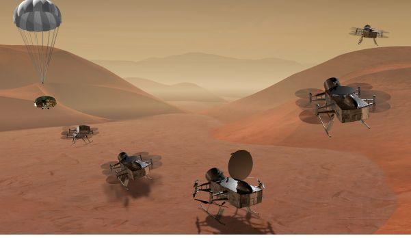 2 PDF. DragonFly. Exploring Titan's Prebiotic Organic Chemistry and Habitability