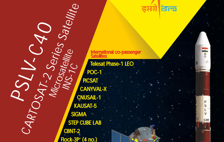 PDF. PSLV C-40 - Cartosat 2 Series Mission