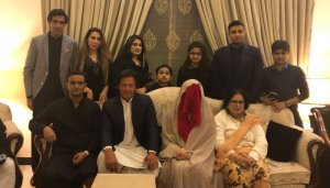 Imran khan 3rd marriage with Bushra
