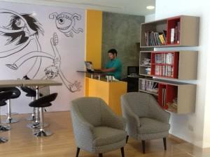 Biblioteca del Cómic, vista general