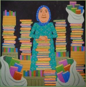 Bibliotecaria de basora - Por Jeanette Winter
