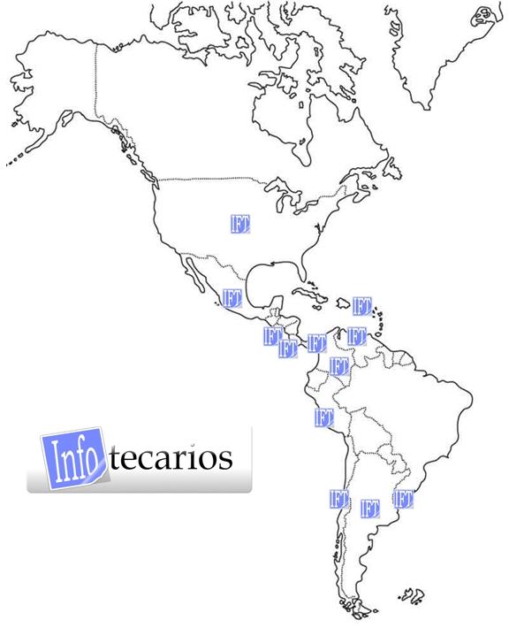 Mapa InfoTecarios - Octubre 2013
