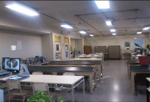 """""""Desertificación bibliotecaria""""  Nuestra biblioteca: sala de lectura IES Cabred"""
