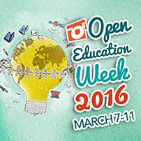 Open Education Week 2016