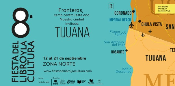 Fiesta del Libro en Medellín (Colombia) con Tijuana (México) como ciudad invitada