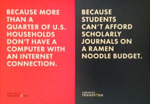 Postales promocionales de la campaña 'Las bibliotecas transforman'