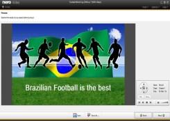 Como criar um DVD com os melhores momentos da Copa.