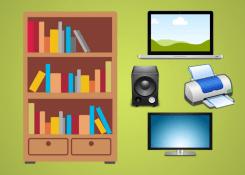 Móveis de escritório para área de TI auxiliam no bom desempenho dos profissionais.