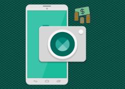 Aplicativo gratuito vende fotos feitas com smartphones em todo o mundo.