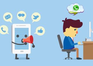 WhatsApp no trabalho - O Whatsapp está para pessoas, assim como o AioNow está para empresas