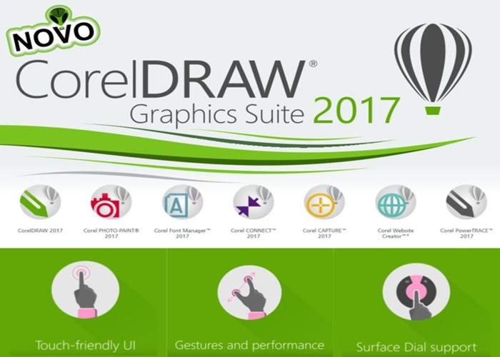 CorelDRAW - Novo CorelDRAW X8 chega ao mercado brasileiro.