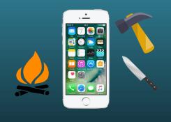 Jogar iPhone no fogo? Veja quais foram os testes mais bizarros já feitos com o celular.