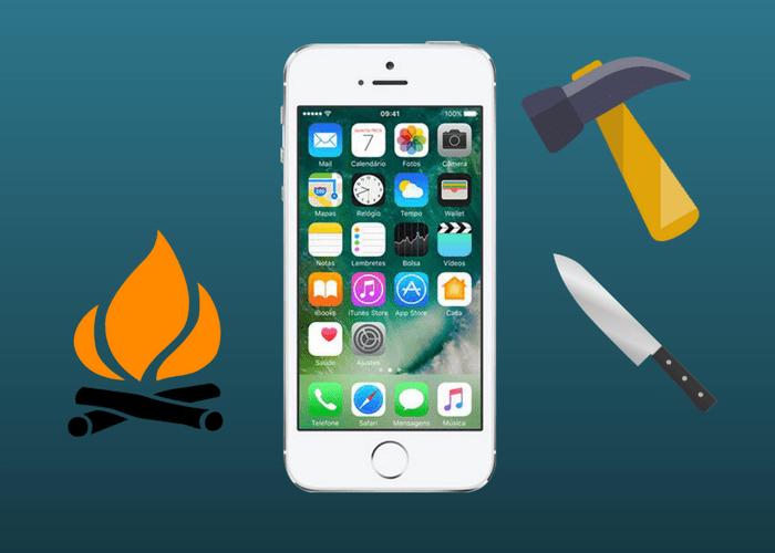 Testes bizarros com o Iphone - Jogar iPhone no fogo? Veja quais foram os testes mais bizarros já feitos com o celular.
