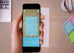Transforme seu celular em um Scanner de documentos gratuito.