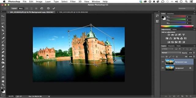 como editar imagem no photoshop.