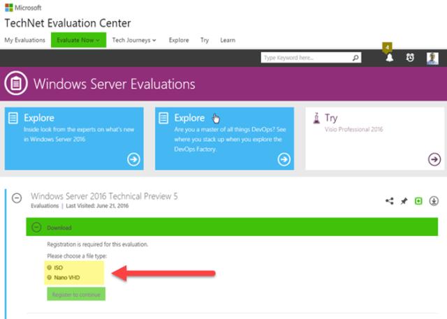TechNet Evaluation Center