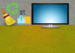 Como limpar a tela da sua TV sem danificar o aparelho.