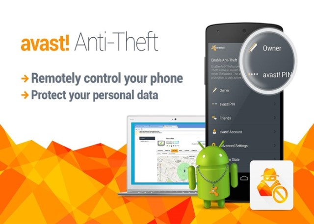 avast-anti-theft rastrear qualquer celular