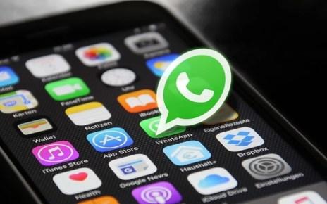 Ícone do Whatsapp na tela de um Smartphone