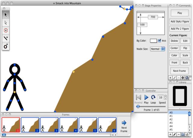 Stykz ferramenta de animação