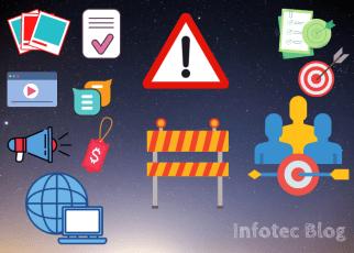 Motivos para o conteúdo não atingir o público-alvo