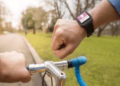 Como melhorar a performance nos treinos com o Relógio para Ciclismo.