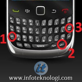 Cara soft reset handphone blackberry