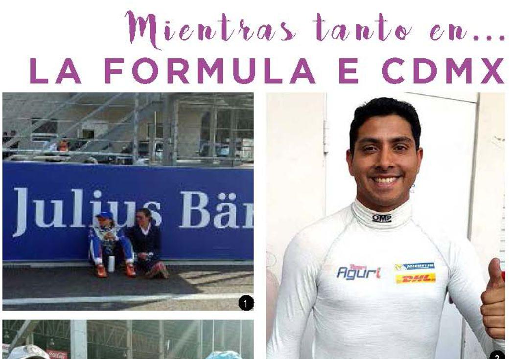 Mientras tanto en… La Formula E CDMX
