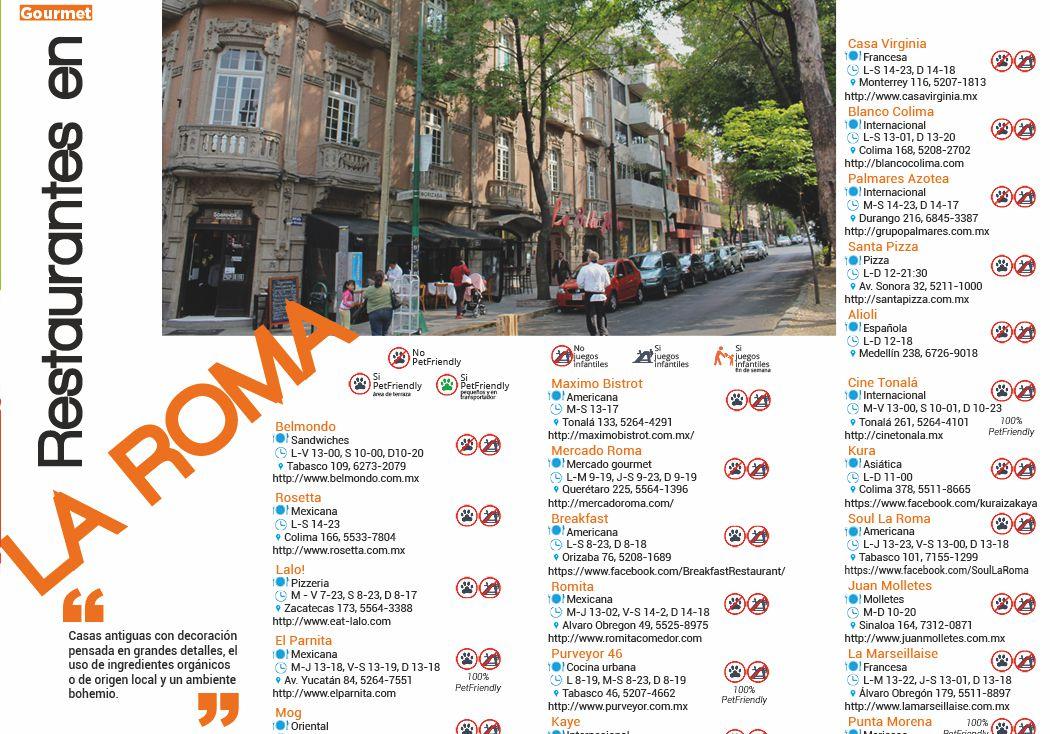 La Roma: ingredientes orgánicos o de origen local y un ambiente bohemio