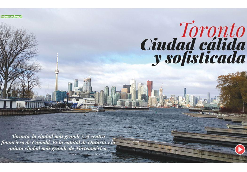 Toronto: ciudad cálida y sofisticada