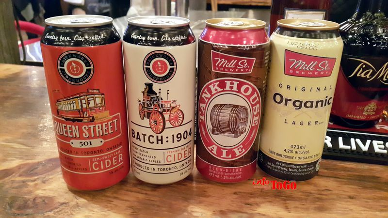 Cerveza y sidra