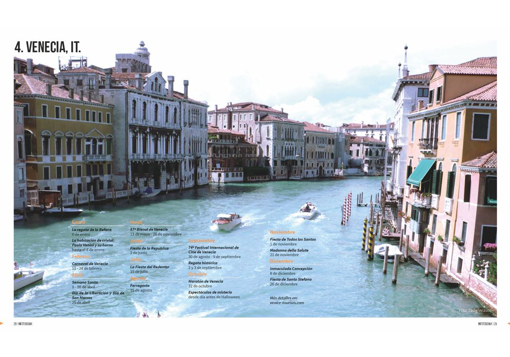 4. Venecia, Italia