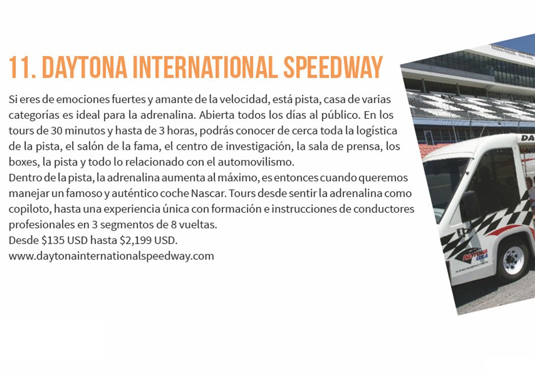 11. Daytona International Speedway